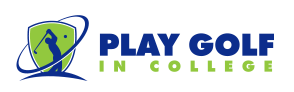 Play Golf in College Logo