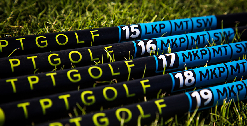 TBT Golf shafts are available exclusively through Play Golf in College